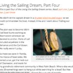 Living The Sailing Dream Part Four