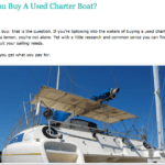 Should you buy a charter boat
