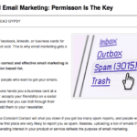 Successfull email marketing permission based marketing