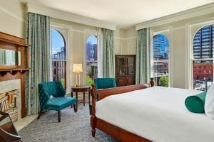 The Oxford Hotel Room