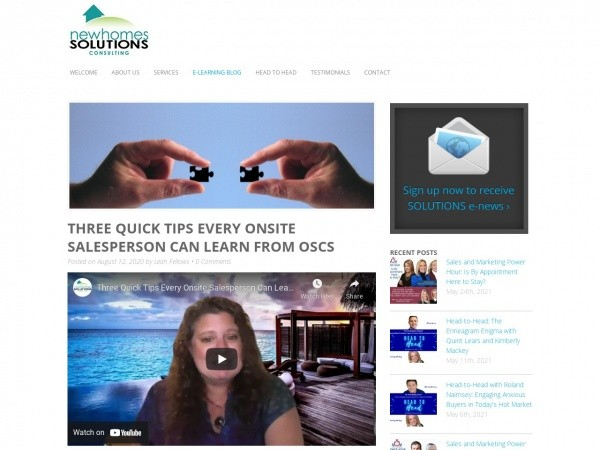 featured new home solutions website